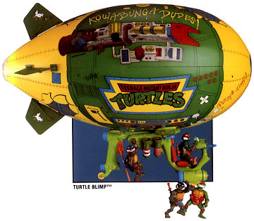 Turtles' Blimp