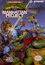 TMNT Manhattan project cover