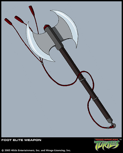 Foot Elite's axe