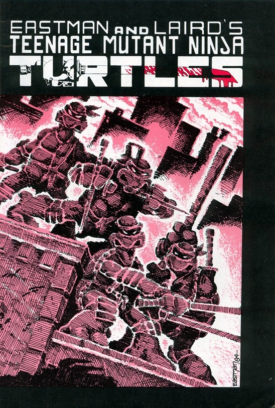 TMNT (issue 1, cover)