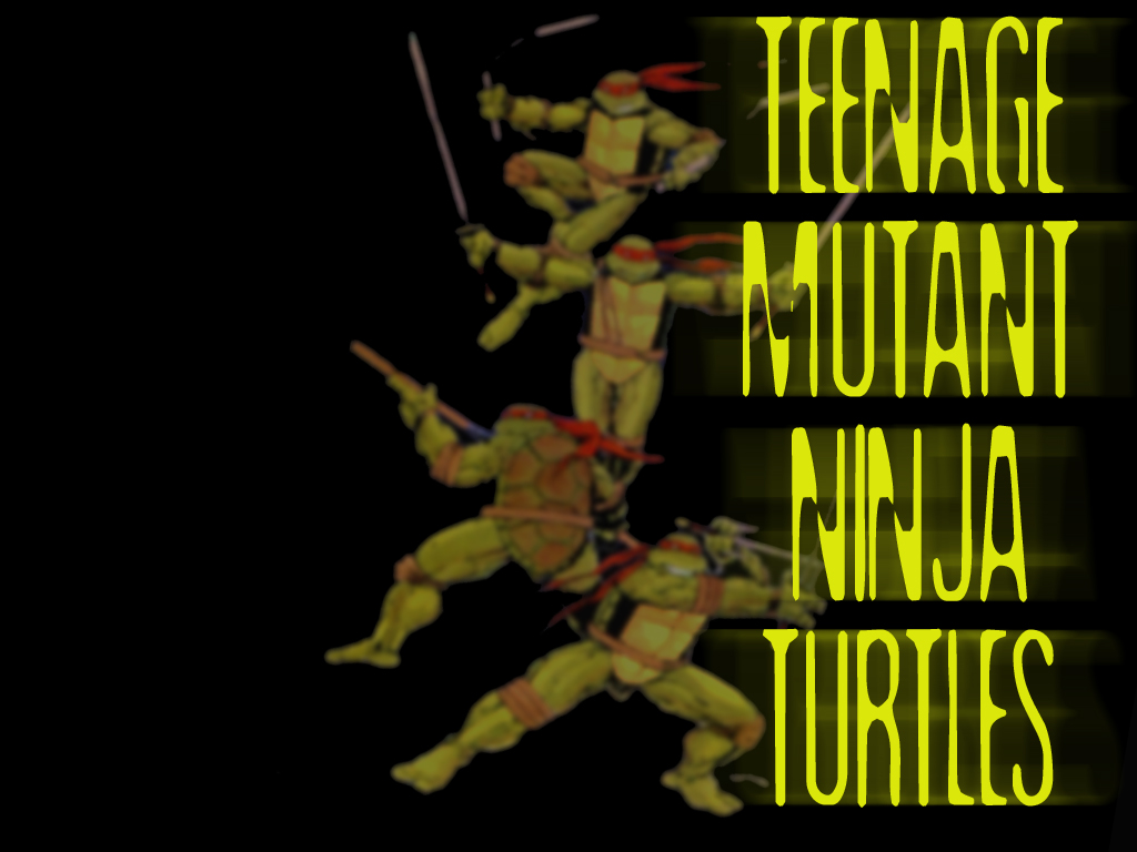 TMNT wallpaper bases on comics (1)
