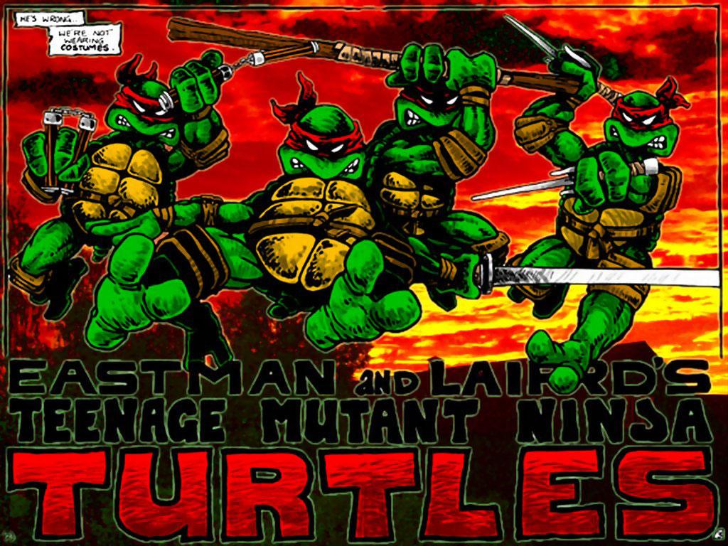 TMNT wallpaper bases on comics (13)