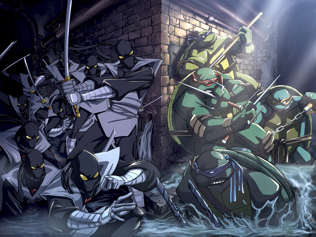 TMNT wallpaper bases on comics (3)