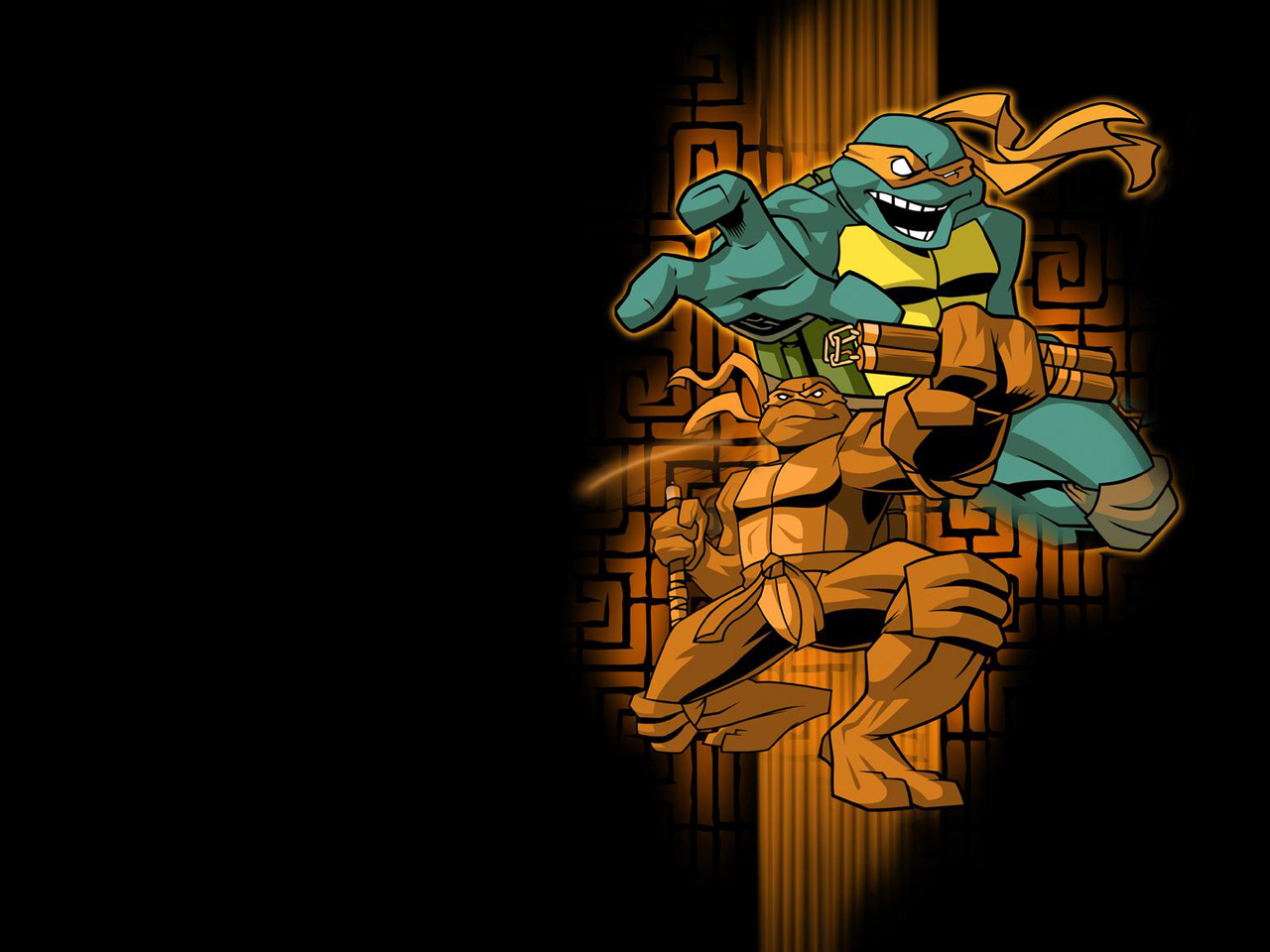 TMNT wallpaper 2003-2009 series (25)