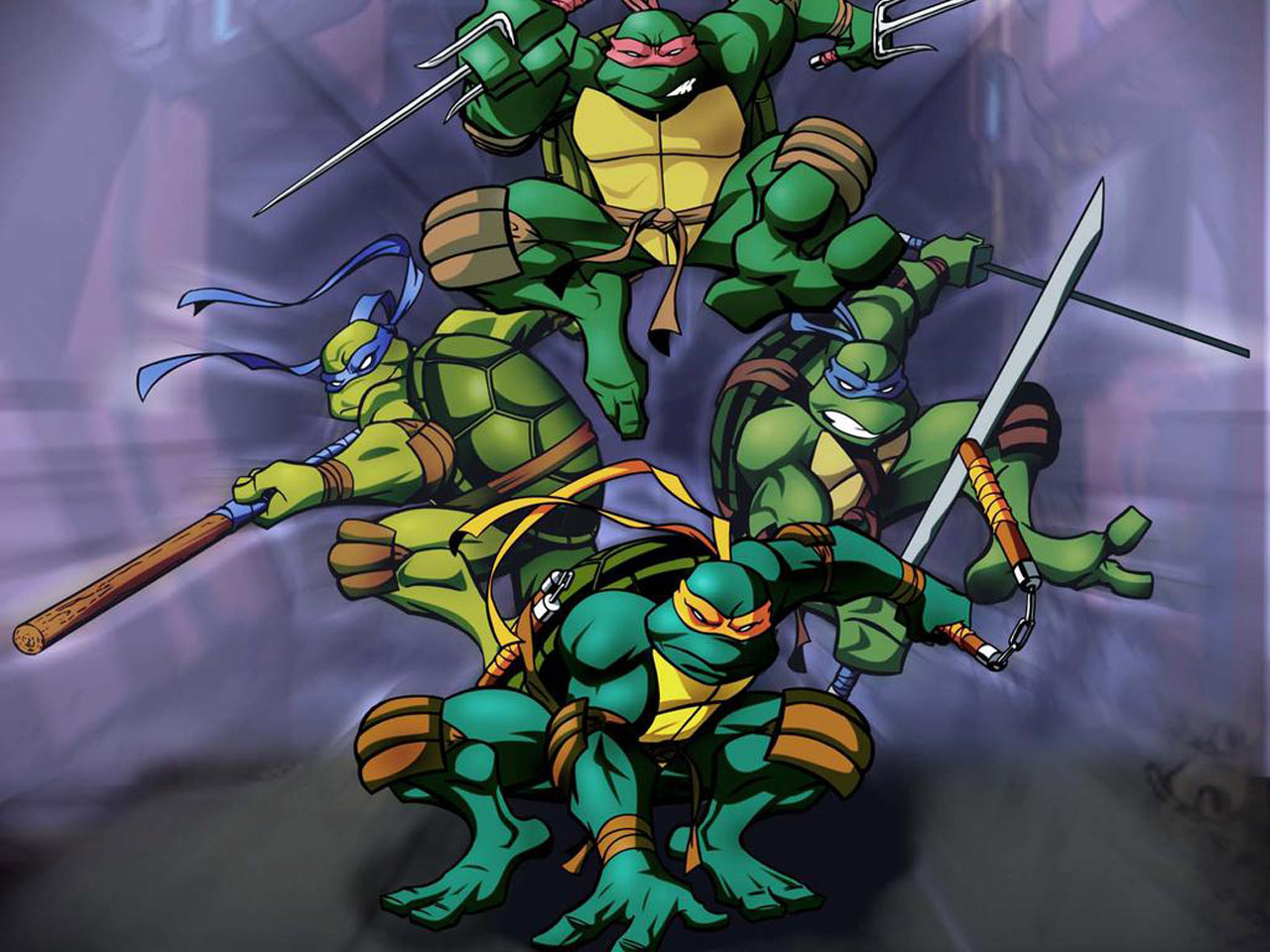 TMNT wallpaper 2003-2009 series (31)
