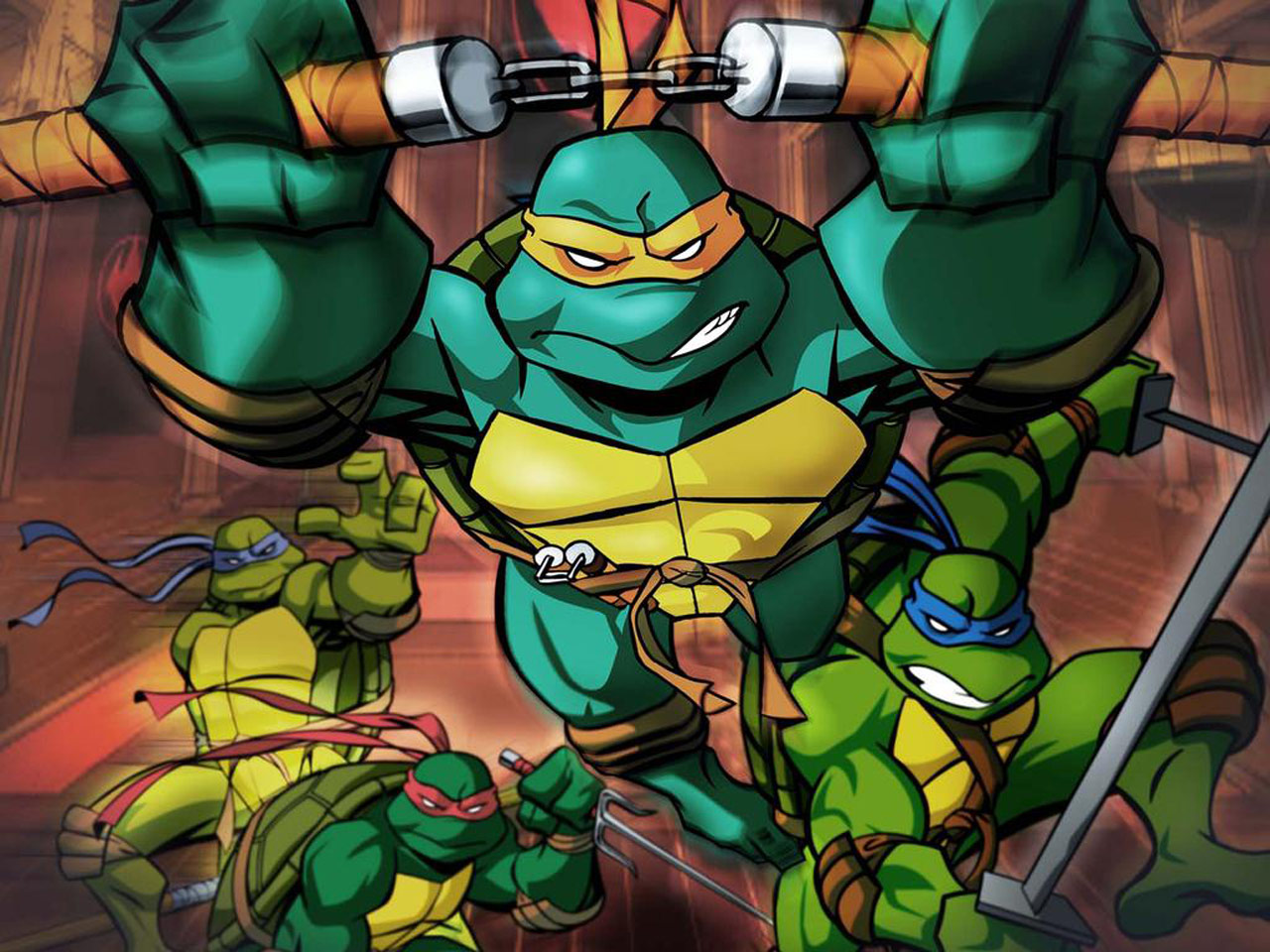 TMNT wallpaper 2003-2009 series (32)