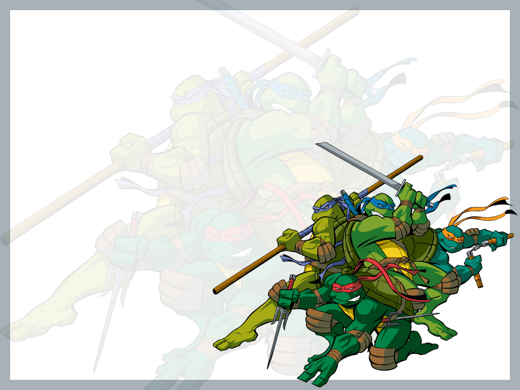 TMNT wallpaper 2003-2009 series (6)