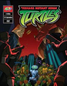 TMNT 2003-2009 - season 2 (DVD cover)
