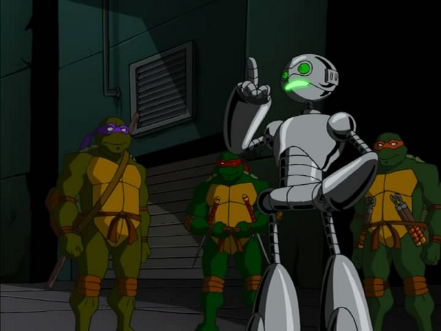 28. Turtles in Space - Part Two. ''The Trouble with Triceratons'' (1)
