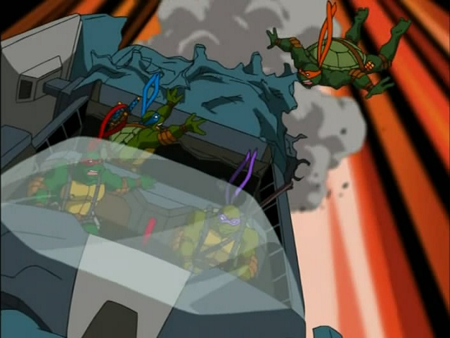 28. Turtles in Space - Part Two. ''The Trouble with Triceratons'' (5)