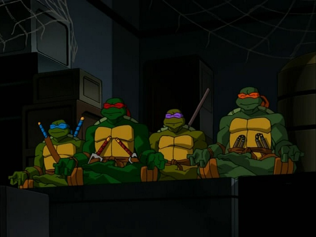 29. Turtles in Space - Part Three. ''The Big House'' (2)