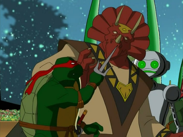 31. Turtles in Space - Part Five. ''Triceraton Wars'' (1)