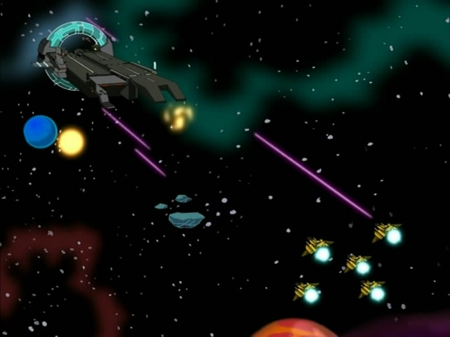31. Turtles in Space - Part Five. ''Triceraton Wars'' (5)
