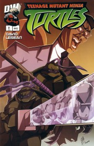 TMNT Dreamwave (issue #2 cover)