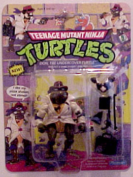 Don, the undercover turtle's figure (1990)