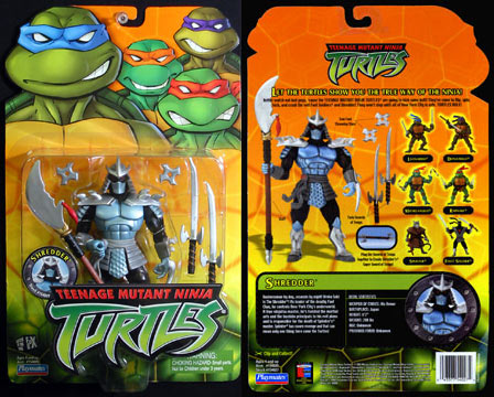 Shredder's figure (2003)