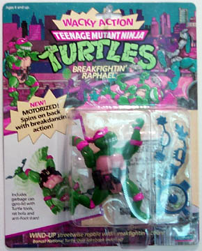 Breakfighting Raphael's figure (1989)