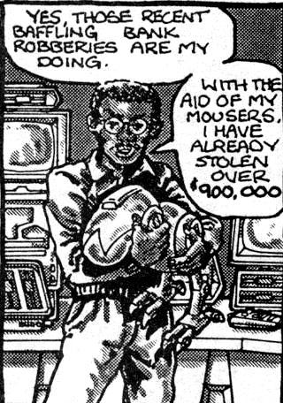 Baxter Stockman from comics