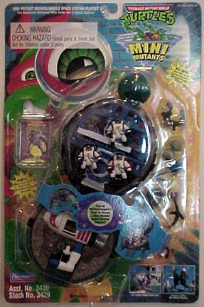 Michaelangelo Space Station Playset (in box)