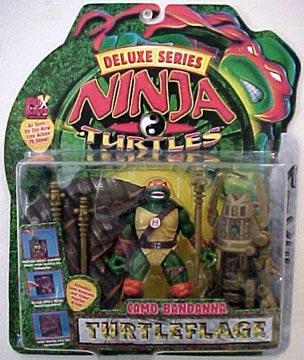 Camo-Bandanna Turtleflage Michaelangelo (in box)