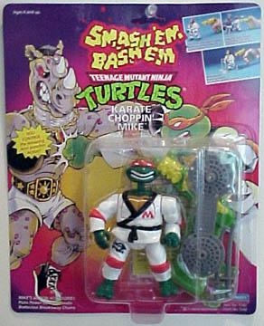 Karate Choppin' Mike (in box)