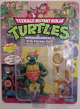 Michelangelo with Storage Shell (in box)