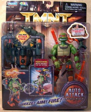 Auto Attack Michelangelo (in box)