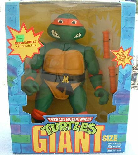 Giant Turtles Michaelangelo (in box)