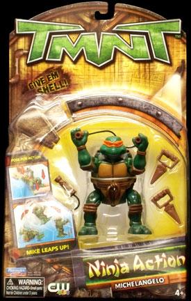 Ninja Action Michelangelo (2004 Reissue) in box