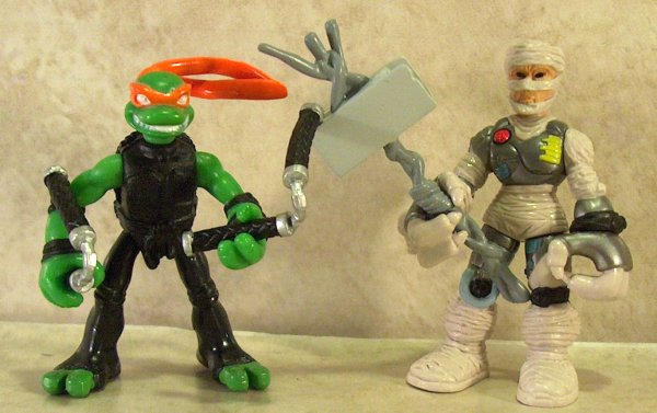 Mini-Mutants Michelangelo vs. Rat King (figure)