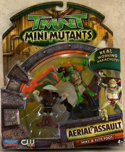 Mini Mutants Extreme Sports Mike VS. Foot Elite in box