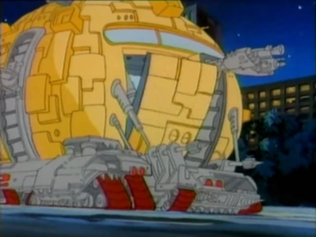 The Mini Technodrome from season 5 (2)