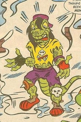 Mondo Gecko from comics