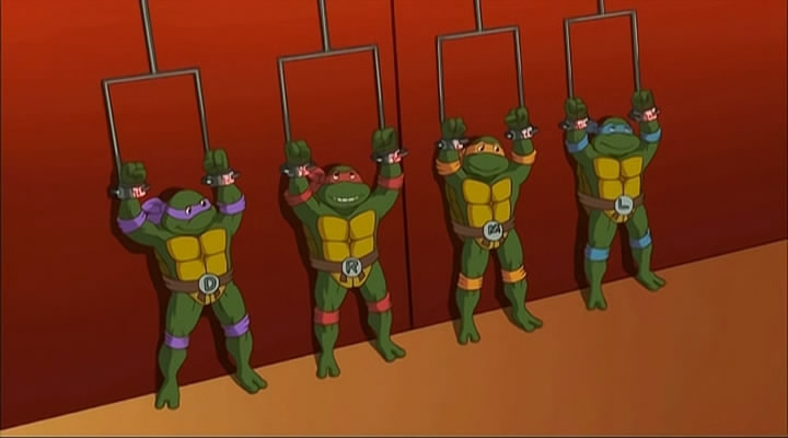 TMNT 1987-1996 (from Turtles Forever)