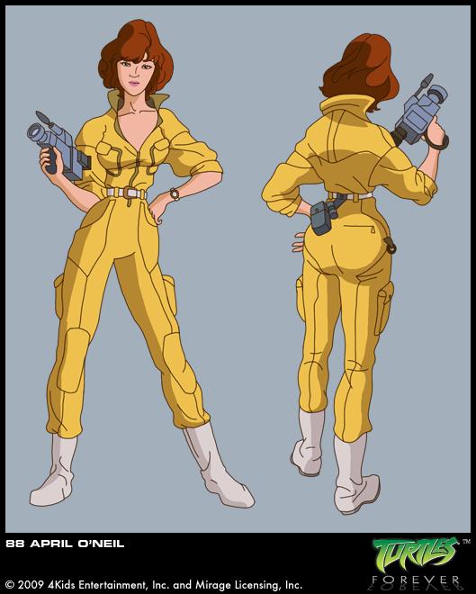 April O'Neil (concept 1)