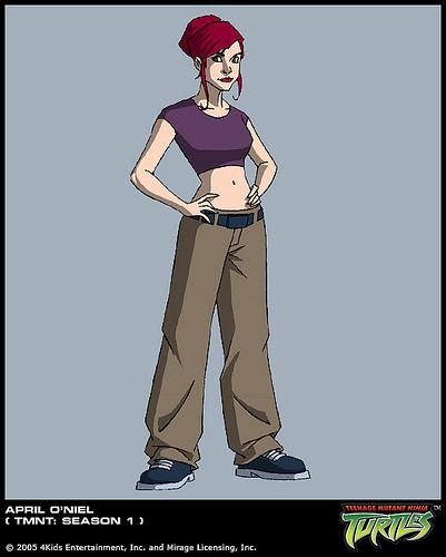 April O'Neil (concept 2)