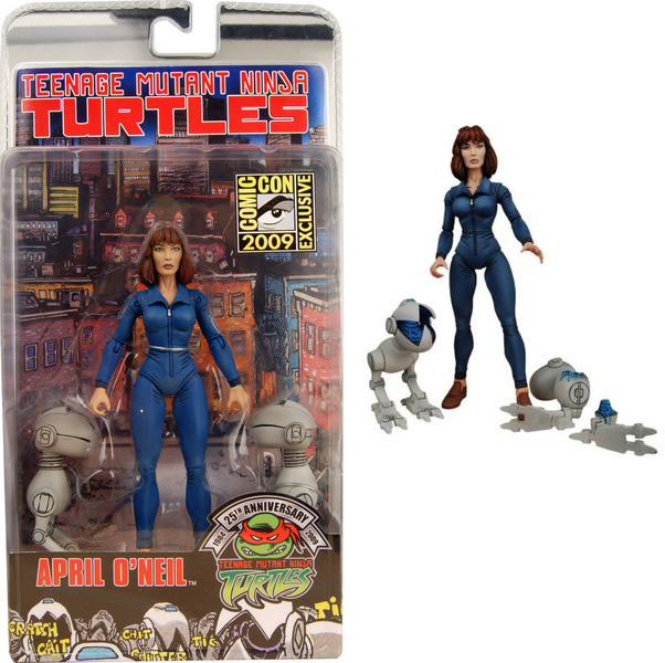 April O'Neil and NECA Mousers