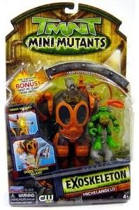 Mini-Mutants Exoskeleton Michelangelo (in box)