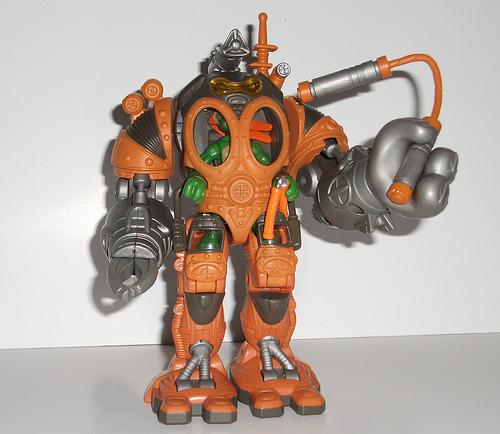 Mini-Mutants Exoskeleton Michelangelo (figure)