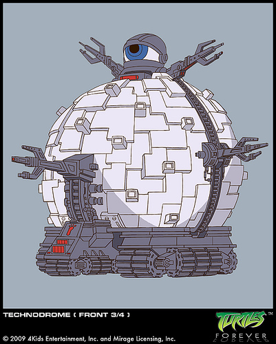 The Technodrome (concept)