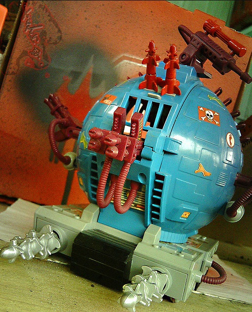 Technodrome Scout Vehicle (3)