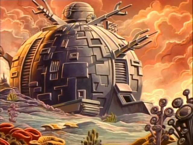 "The Technodrome from season ""Vacation in Europe"""