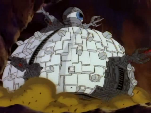 The Technodrome from season 1