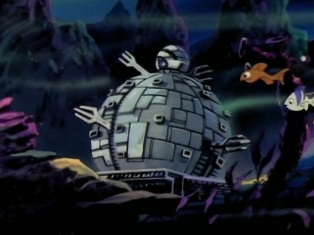 The Technodrome from season 6 (2)