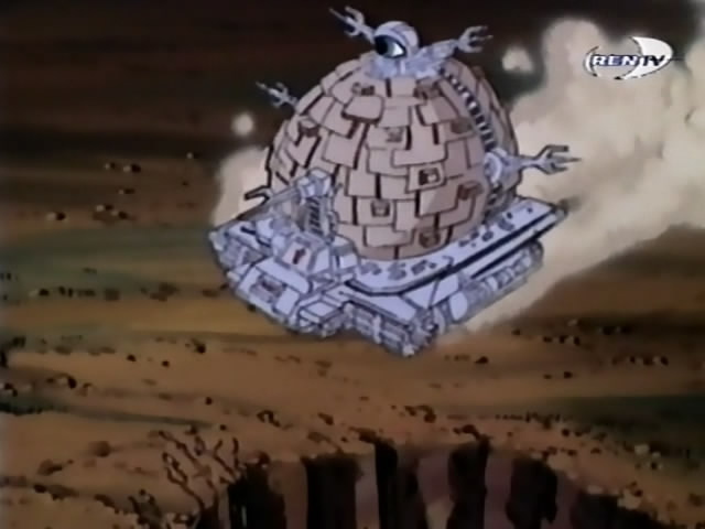 The Technodrome from season 8 (3)