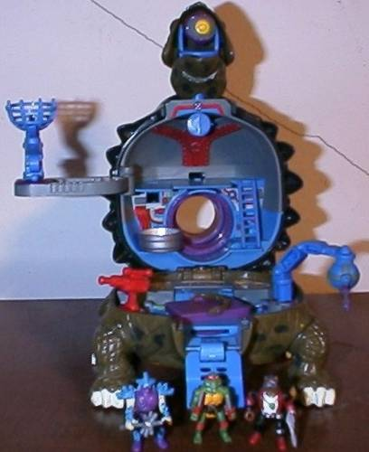Mini-Mutant Tokka Technodrome Playset (2)