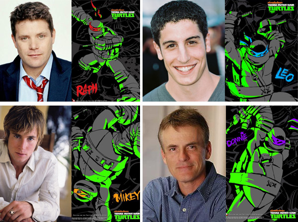 TMNT 2012 from Nickelodeon (cast)