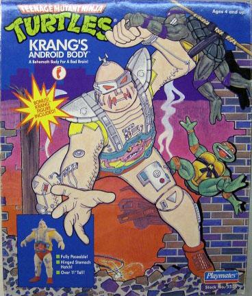 Андроидное тело Кренга 1991 (в коробке)