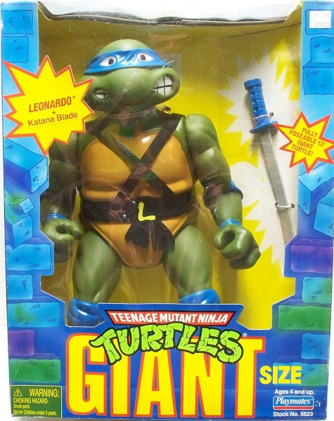 Giant Turtles: Leonardo (in box)