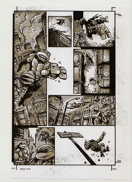 Comics from Kevin Eastman (pg. 2)
